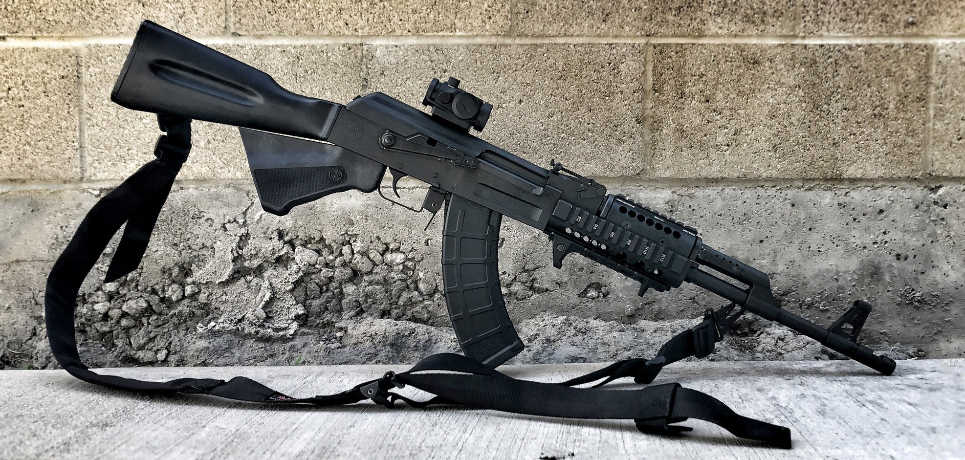 Photo of a happy customers rifle!!
