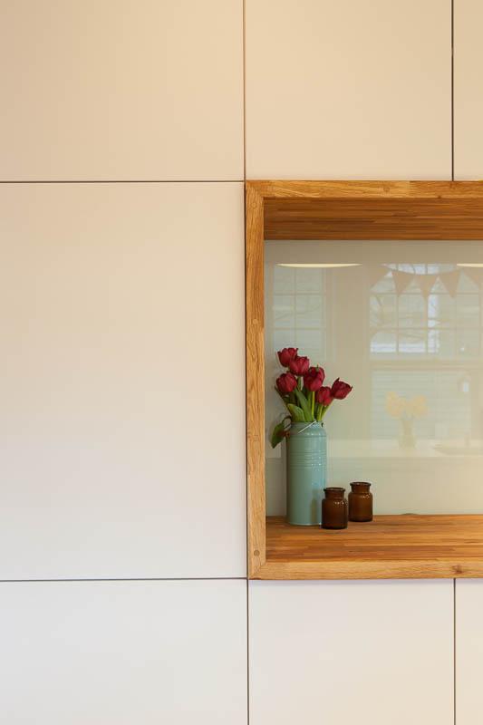 Slab Door - Modern White Paint - The Minimalist