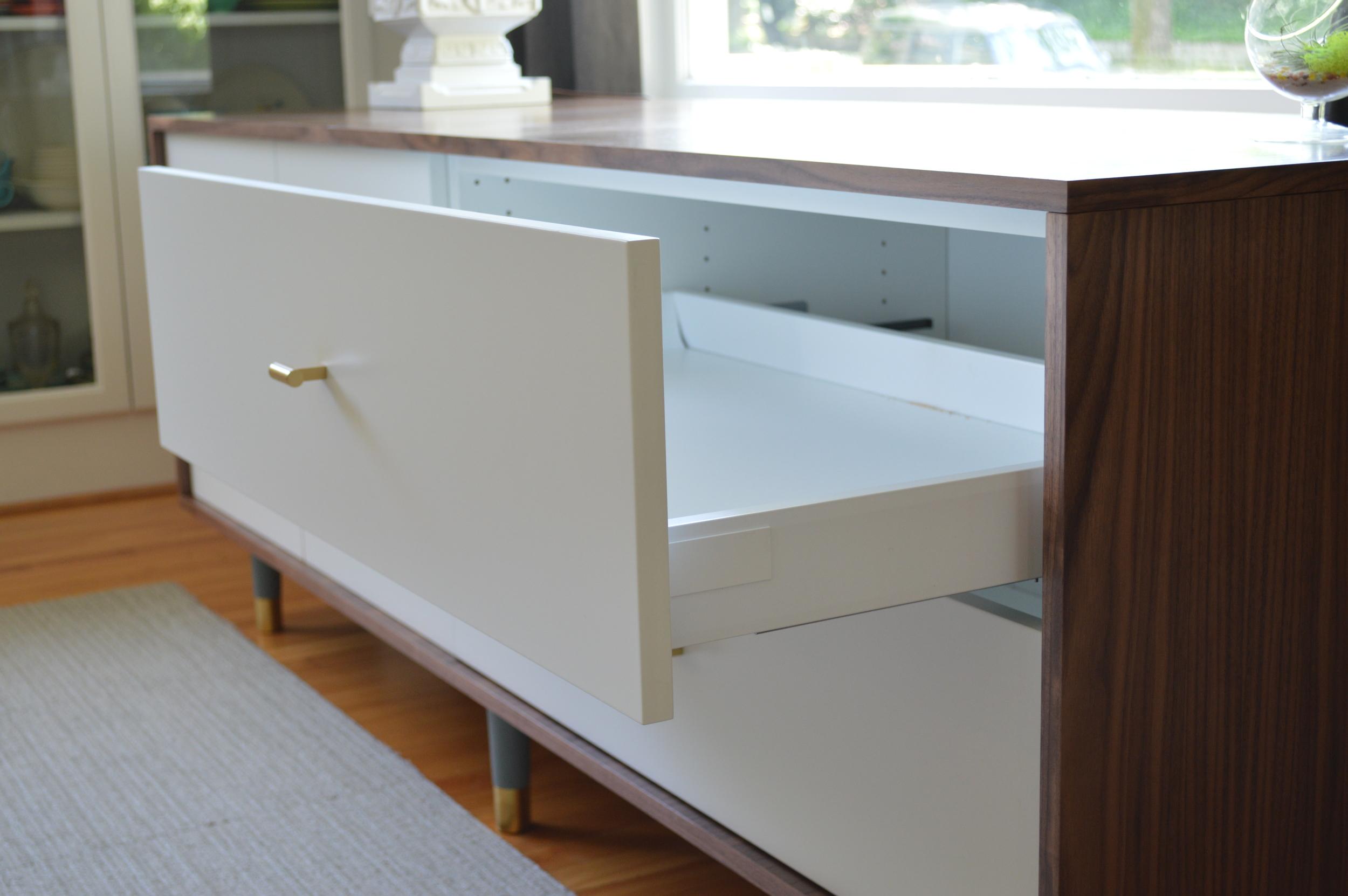 Custom Sideboard - Minimalist + PS Walnut