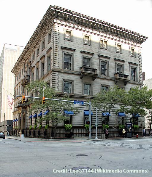 The Union Club, Cleveland Credit: LeeG7144 (Wikimedia Commons)