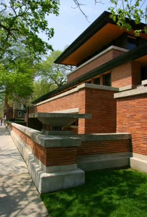 Wright's Robie House's prospect and refuge:  Copyright  Mario Savoia  /  Shutterstock.com