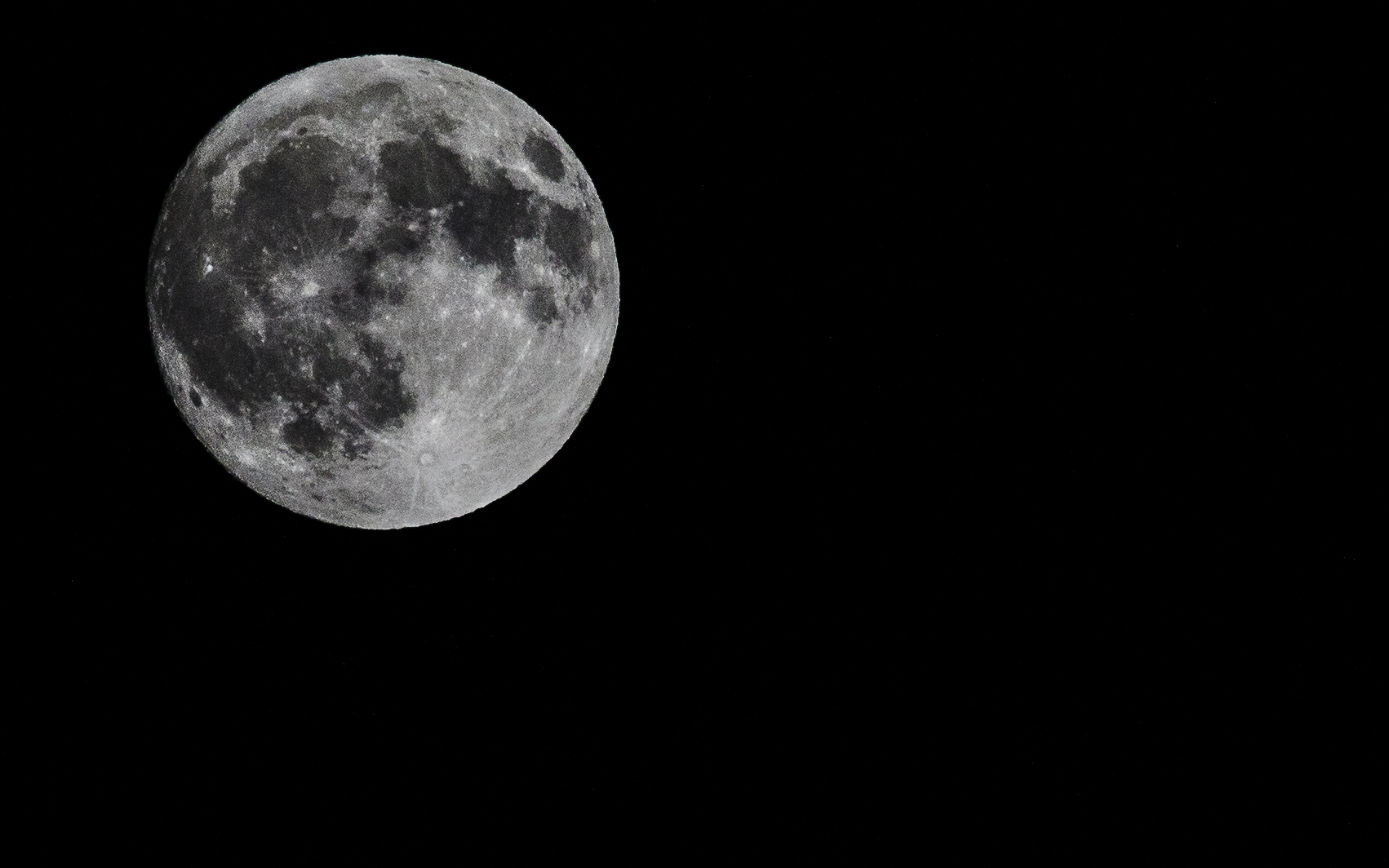 Full Moon -- My Back Yard -- San Jose, California