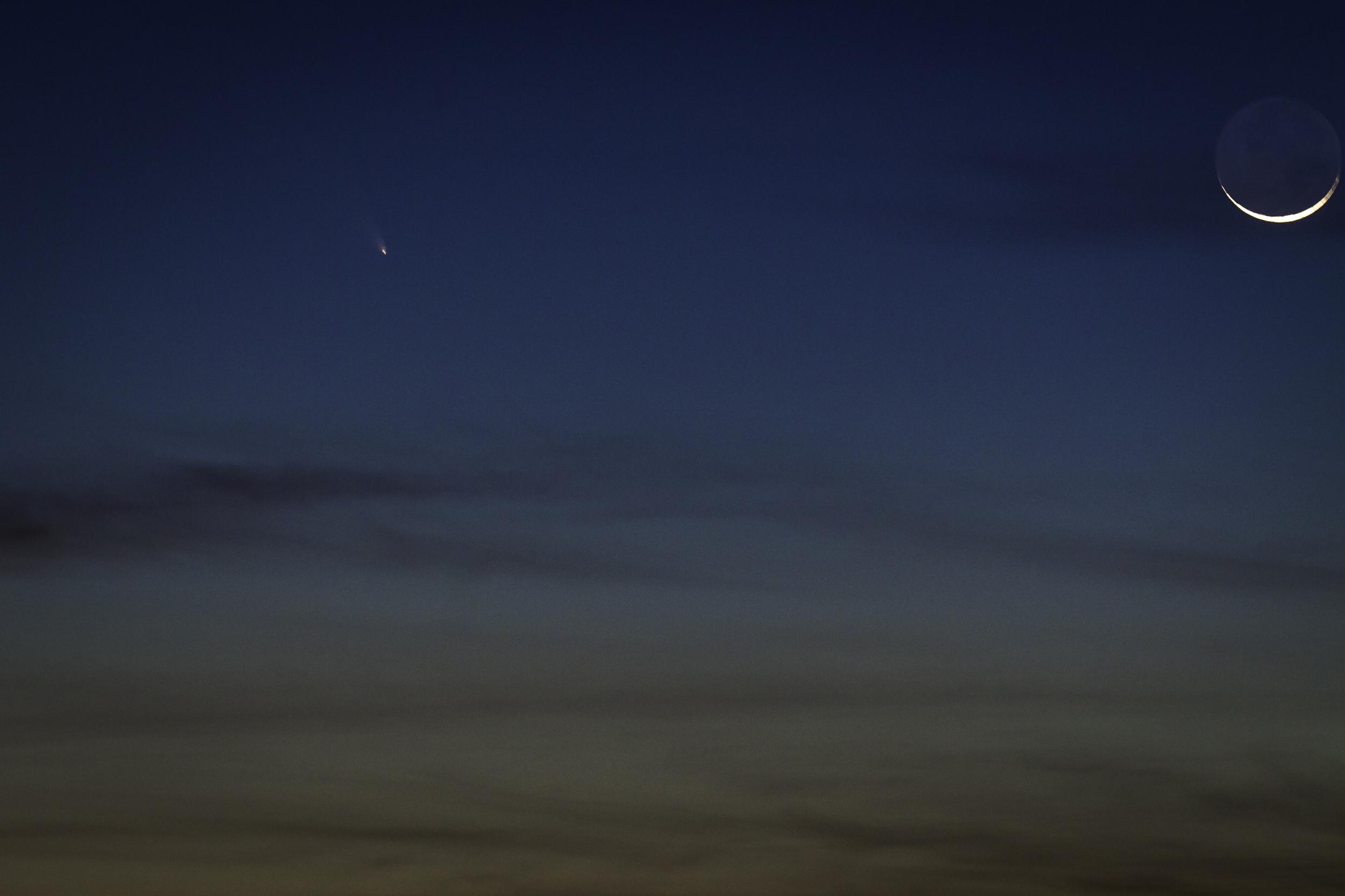 Comet Pan_Starrs -- Summit Road, Santa Cruz Mountains, California