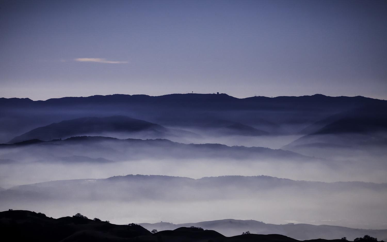 Silicon Valley From Mt. Hamilton