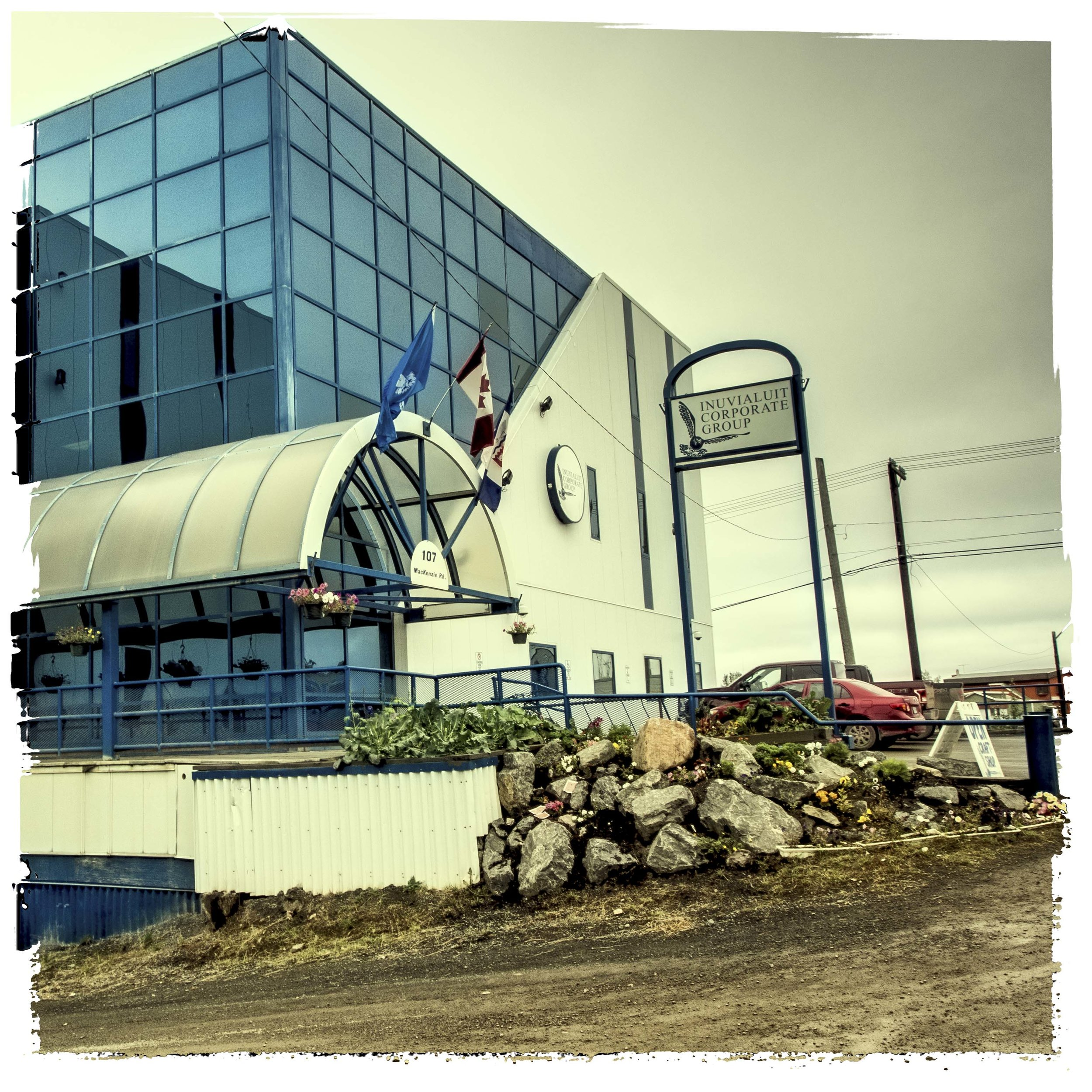 Streetscapes Inuvik: Series of 30