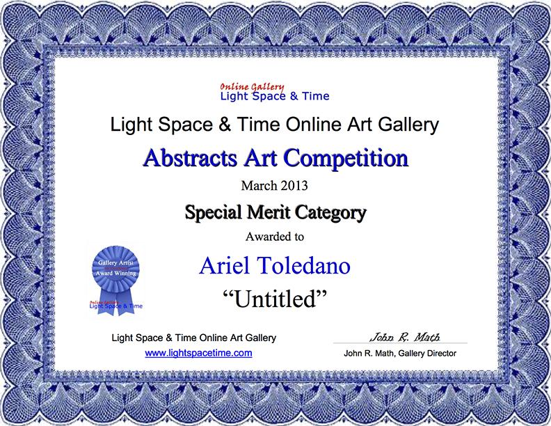 SM - Ariel Toledano - ABSTRACTS 2013 AWARD.jpg