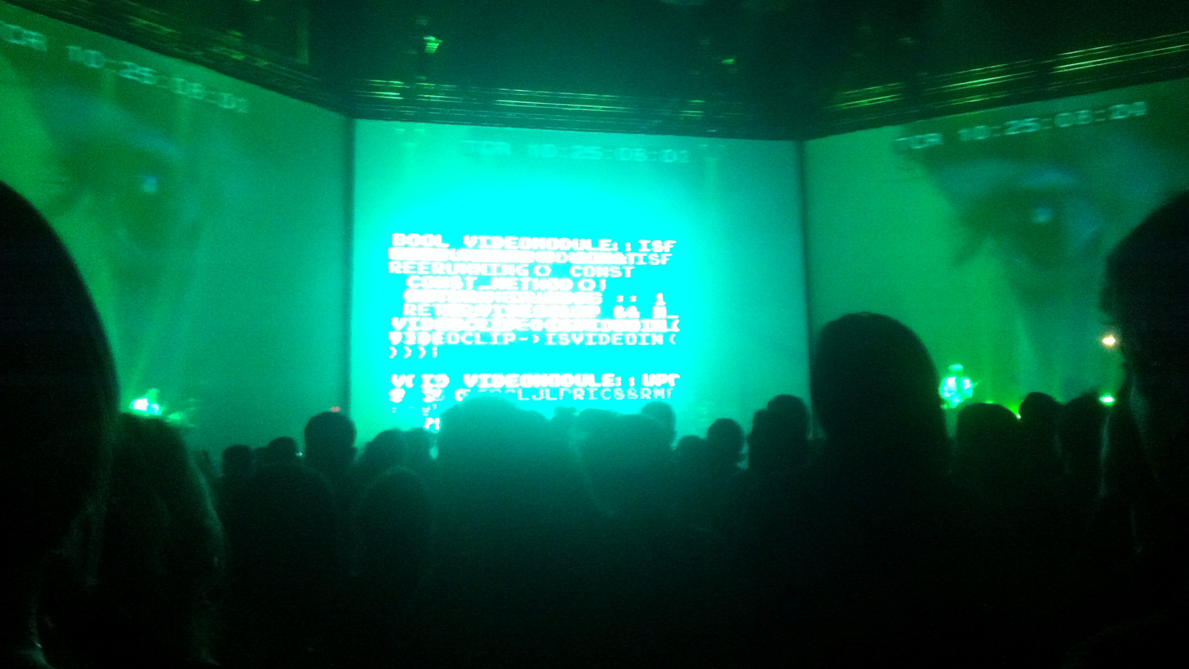 Data rules you.  Massive Attack V Adam Curtis  at the Park Avenue Armory, NYC