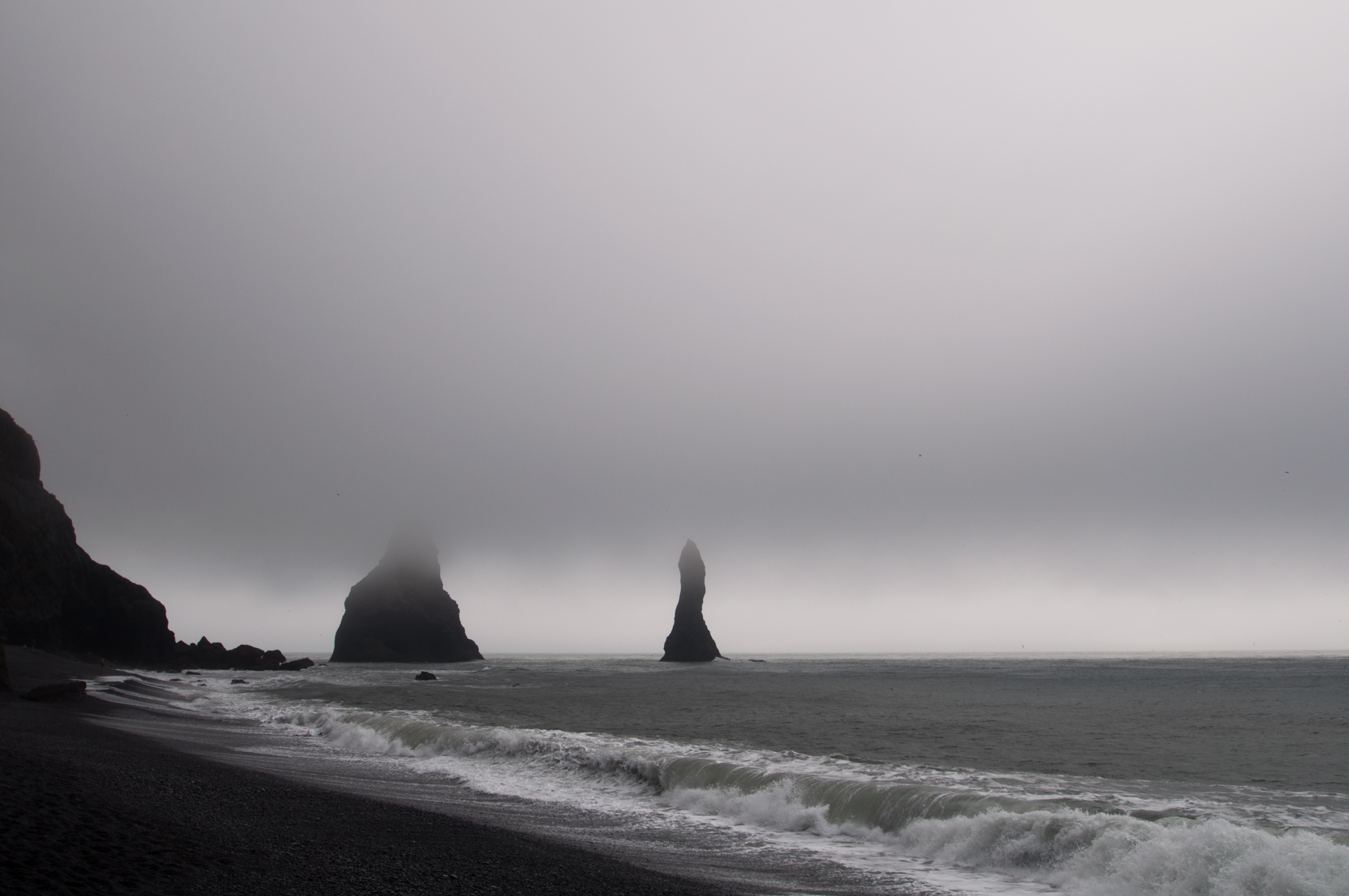 The Eerie Coast of Iceland