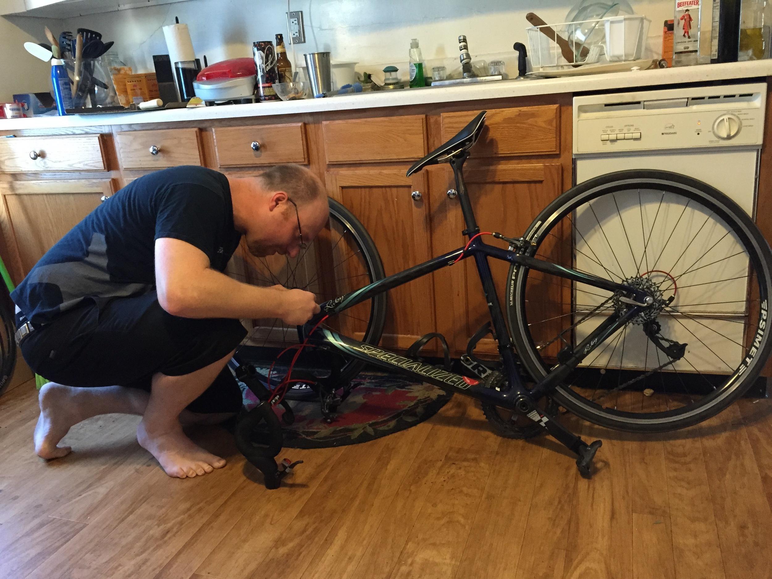 Erich fixes stuff when it breaks.