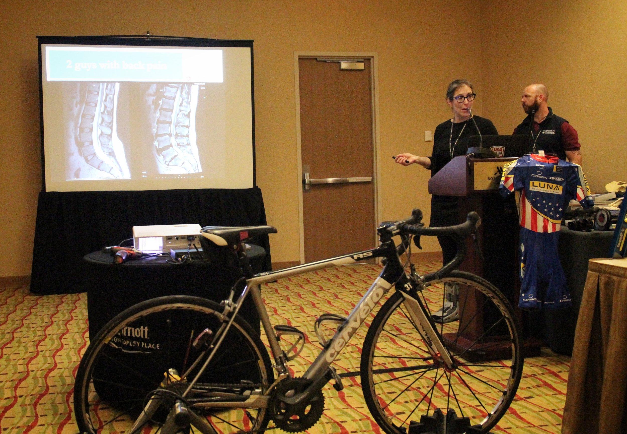 Harvard Cycling Medicine course, 2017