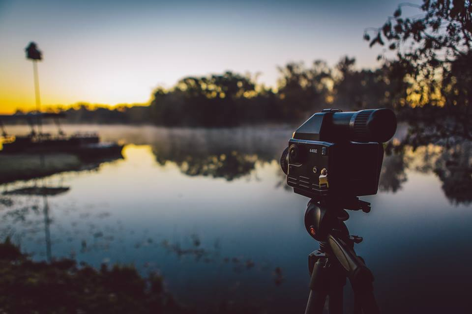 Shooting with my Mamiya 645e medium format camera on Thanksgiving morning
