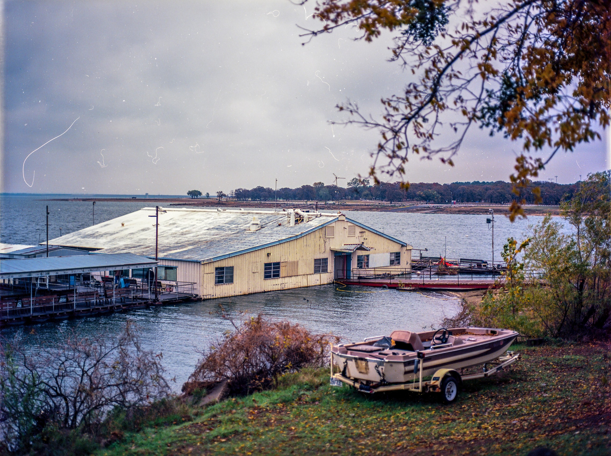 Last time I came to the fishing barge, they told me I was no longer allowed to bring my camera. I was pretty bummed. I'm going to the bring some images i've shot there to the owner the next time I go.