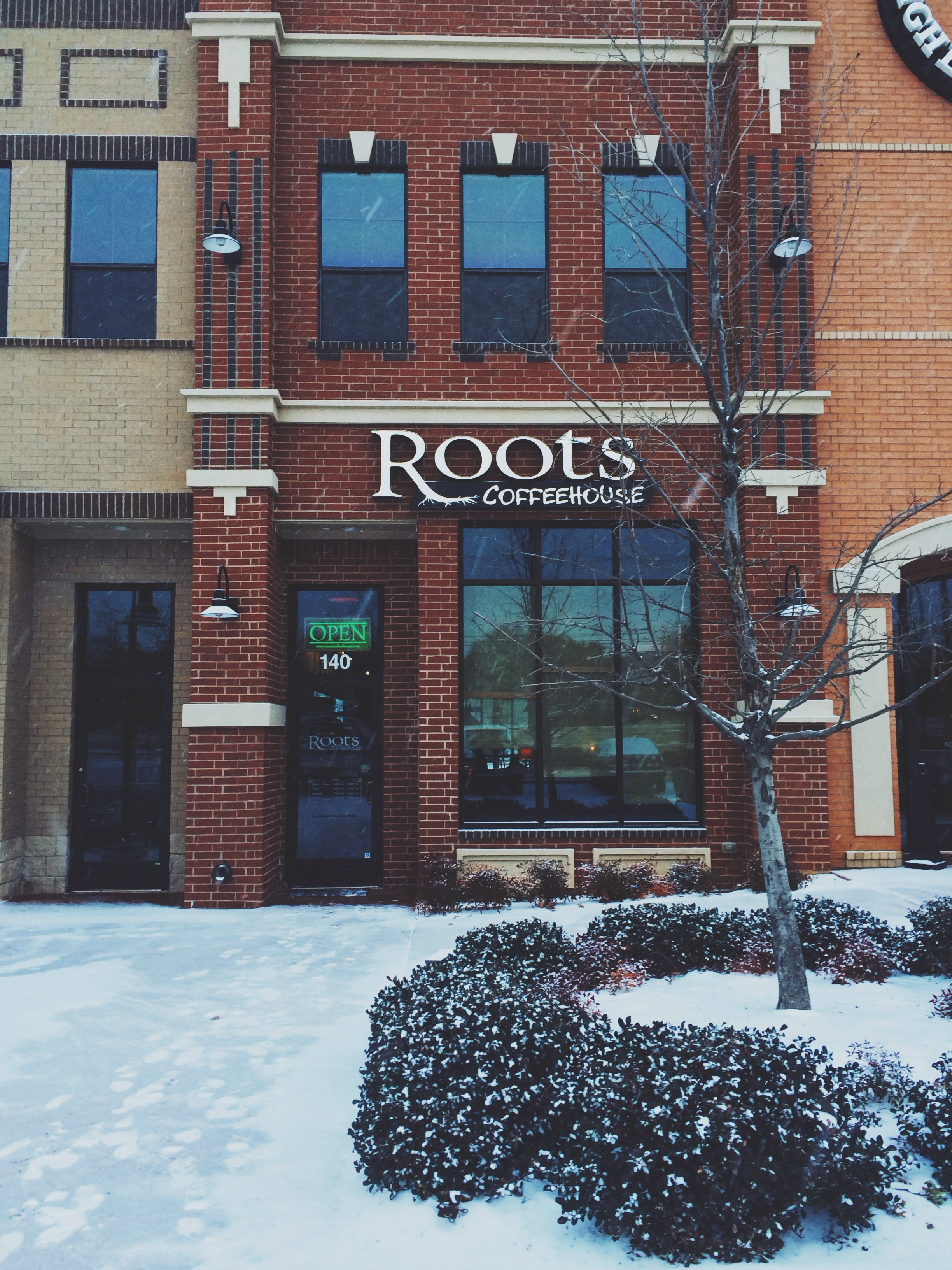 Seriously love this place. Pictures of roots coffee populate 75% of my Instagram feed