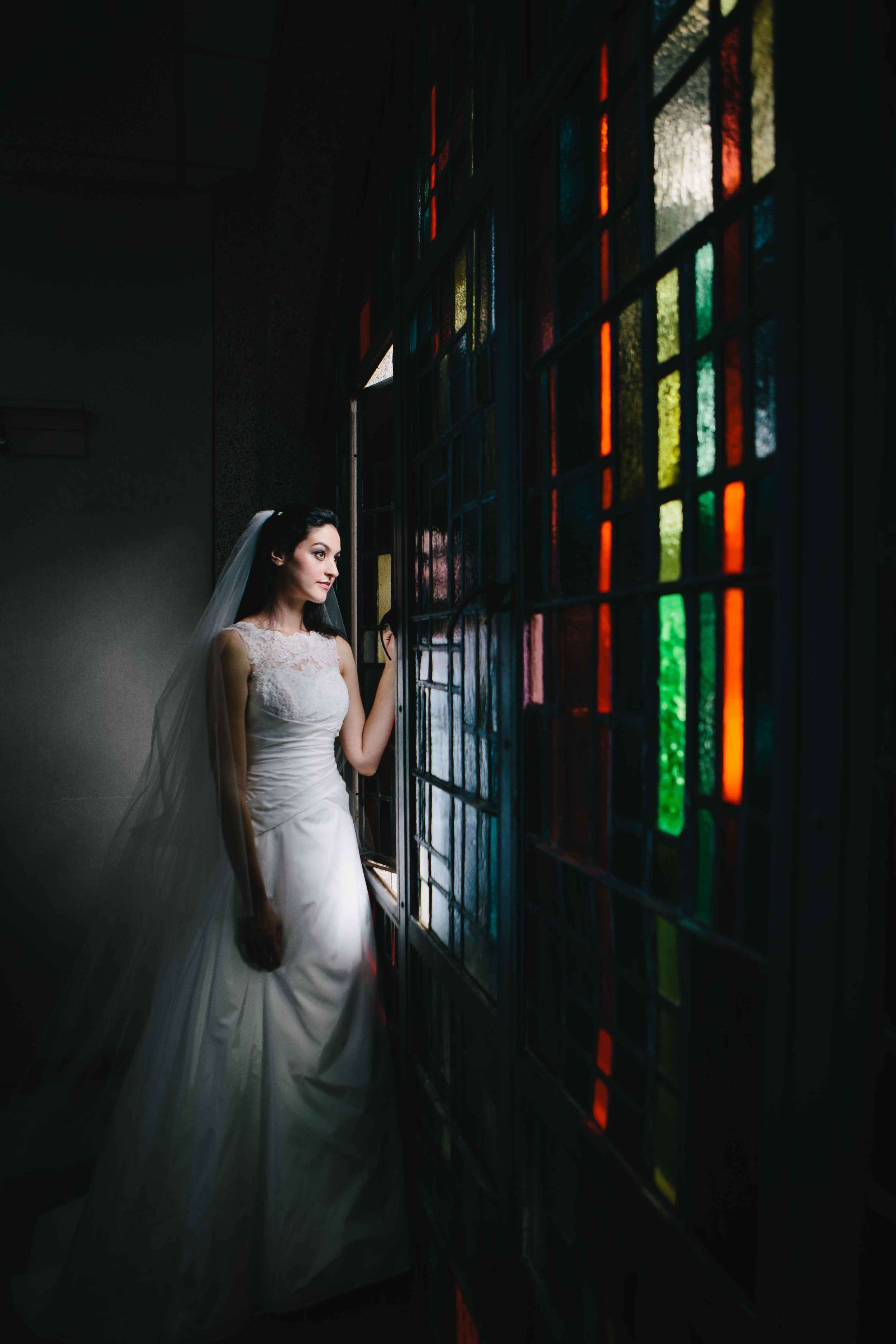 Belltower Chapel Bridal Portrait
