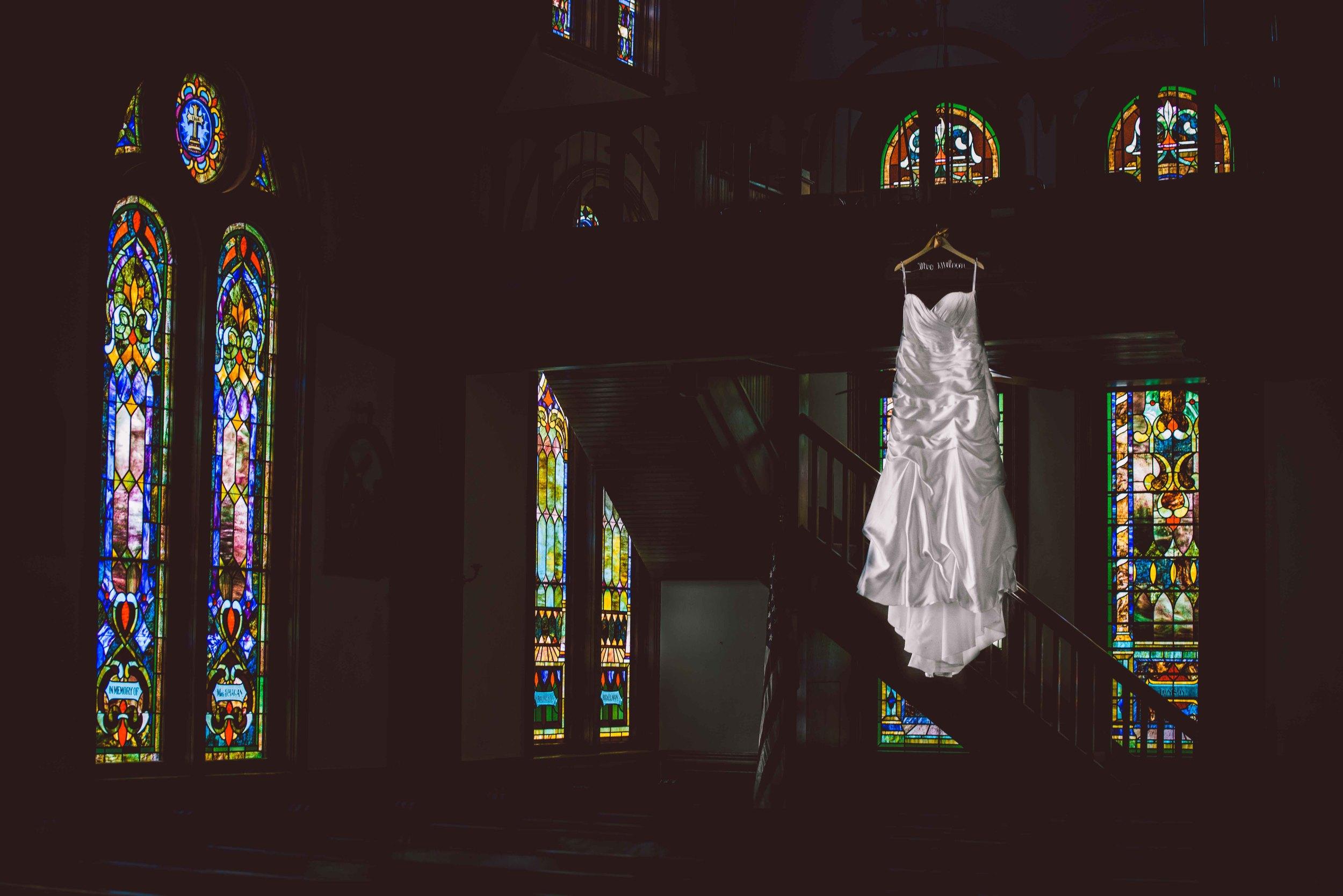Dallas Wedding - Heritage Springs - Katie and Dustin - Wedding Dress