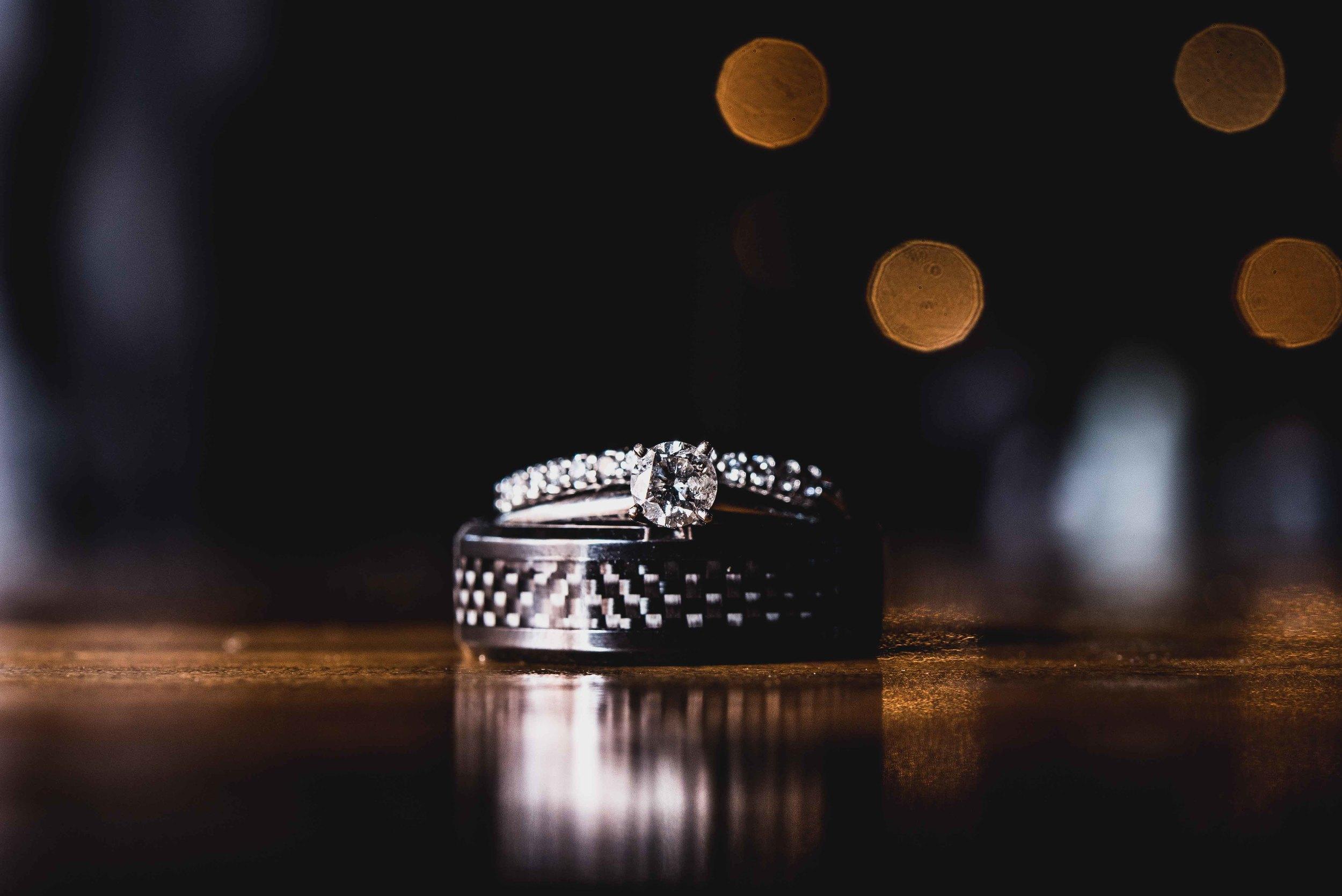Dallas Wedding - Heritage Springs - Katie and Dustin - Wedding Rings