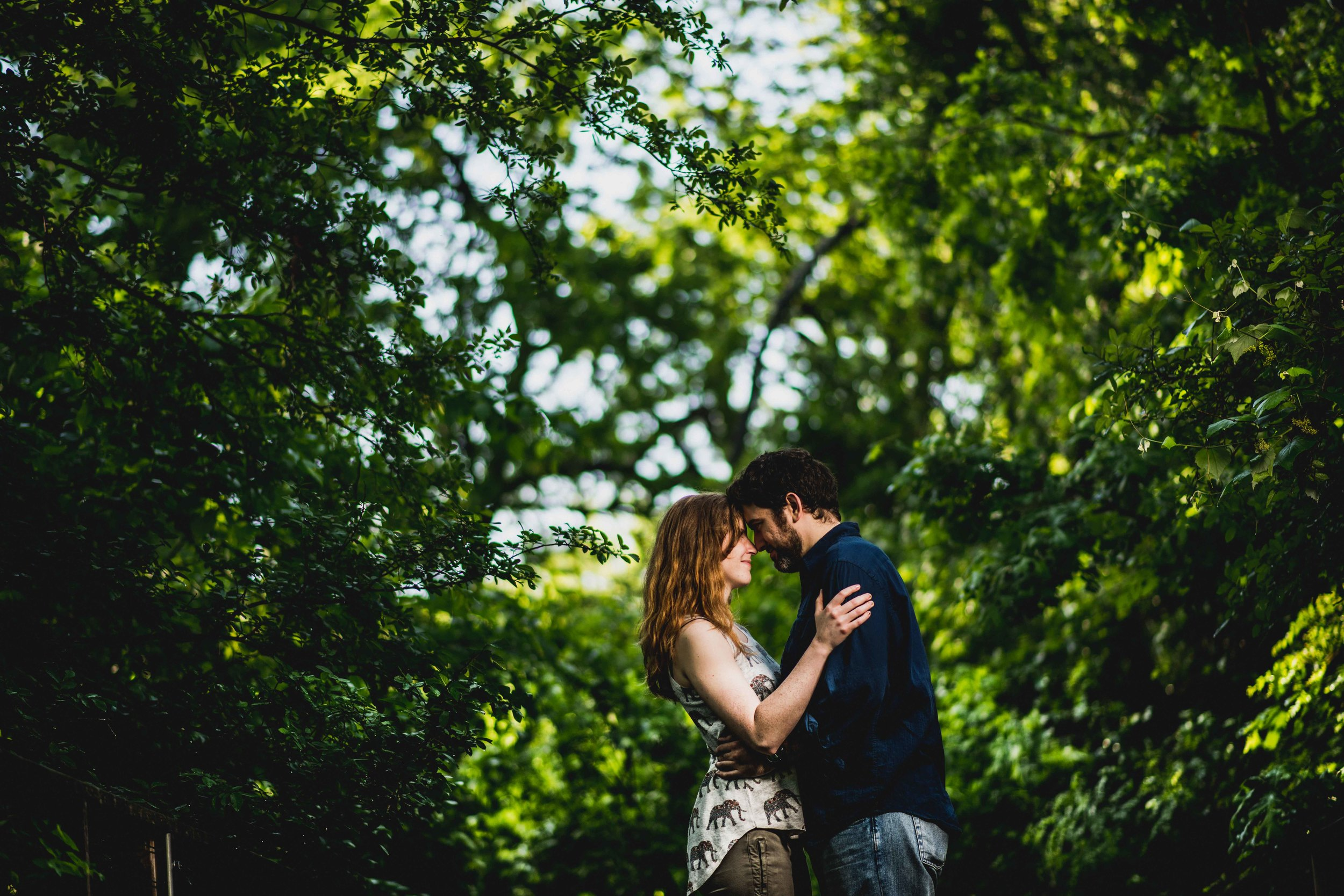 Fort Worth Botanical Garden Engagement Photos - Cody and Kathryn