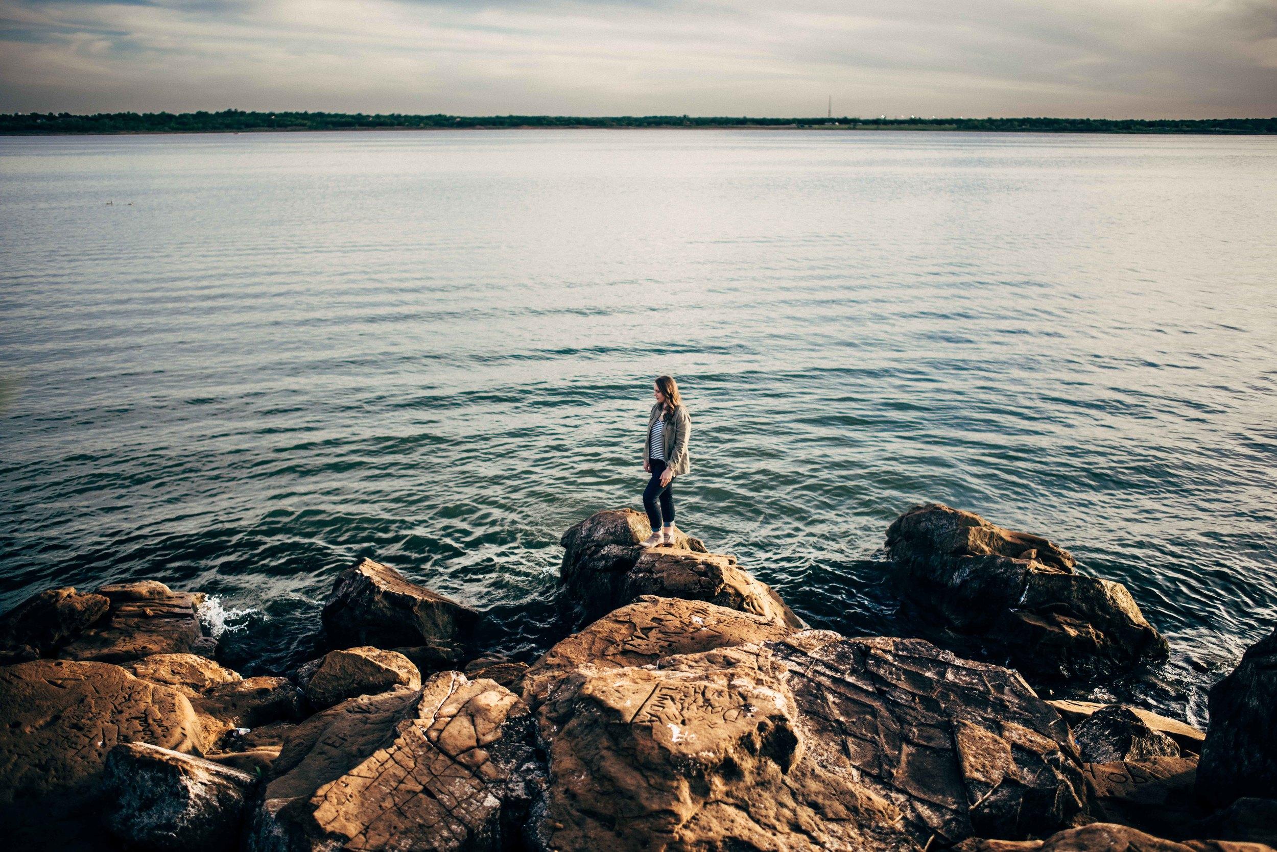 Marcus High School Senior Portraits - Murrell Park - Grapevine Lake