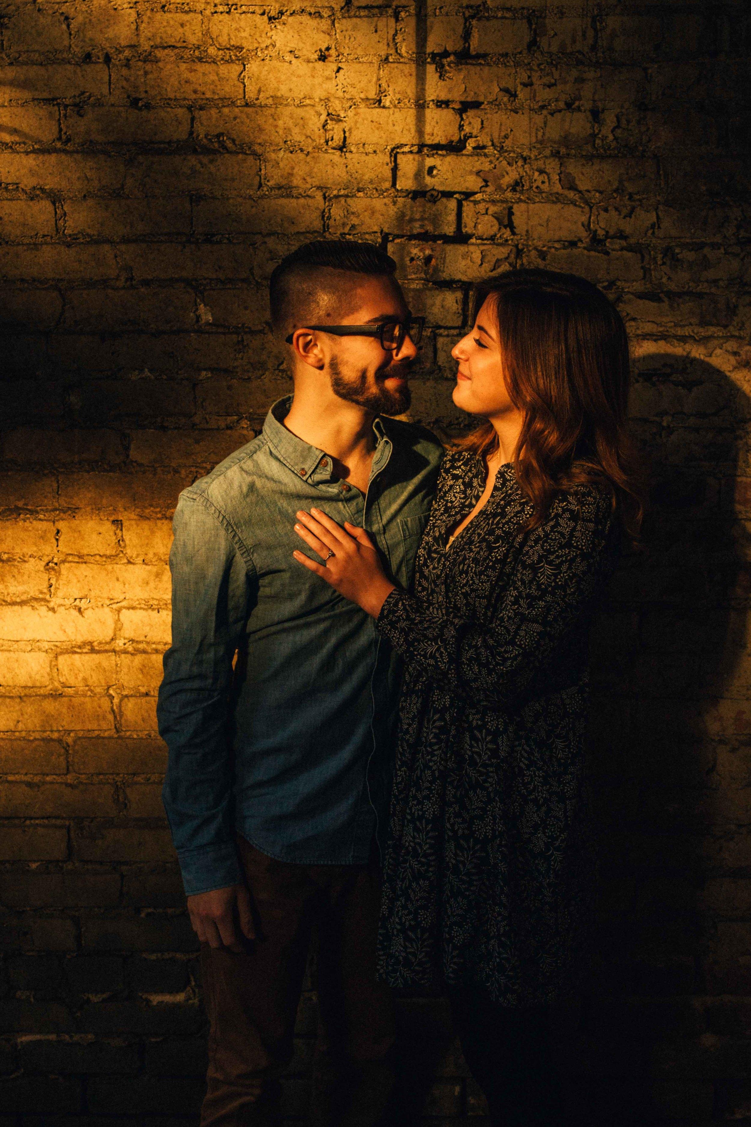 Dallas Engagement - Deep Ellum