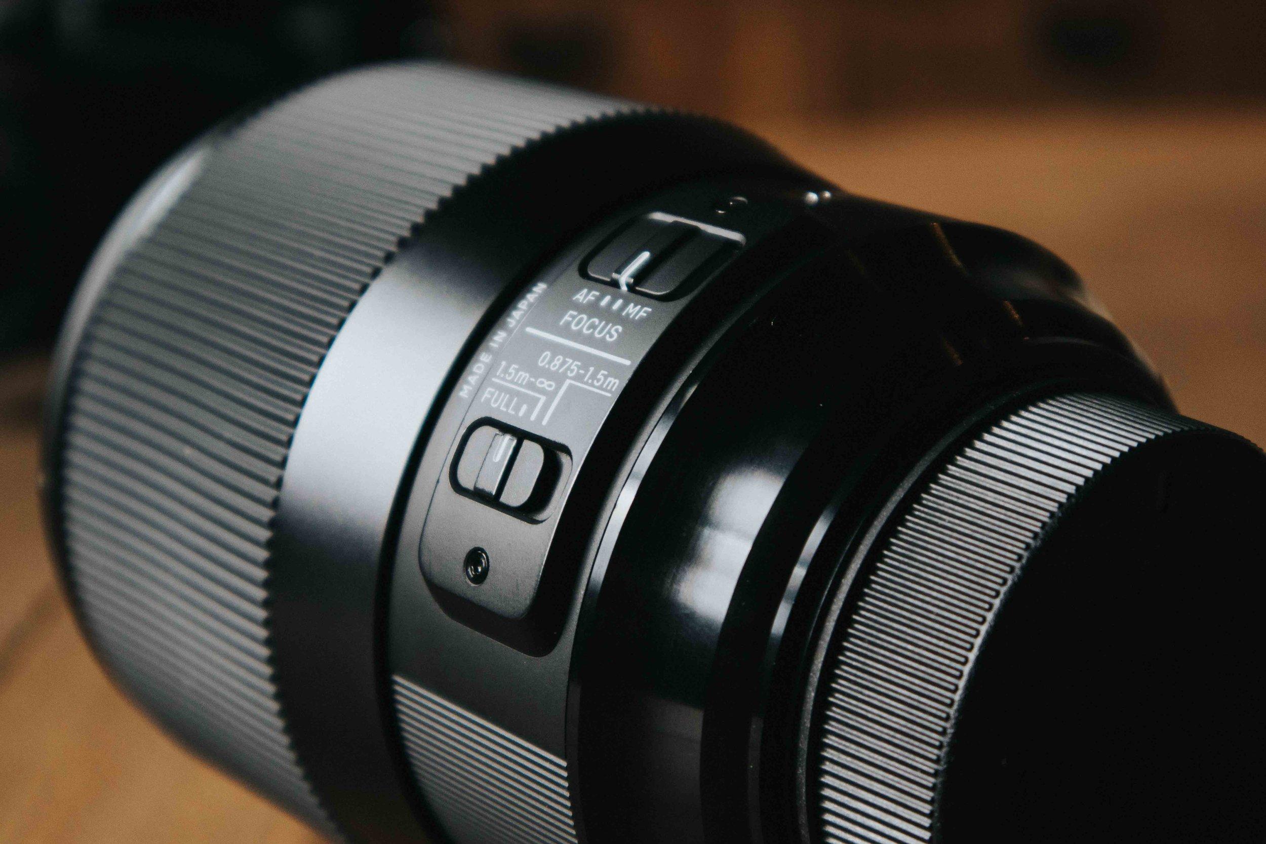 Sigma 135mm Autofocus Switch