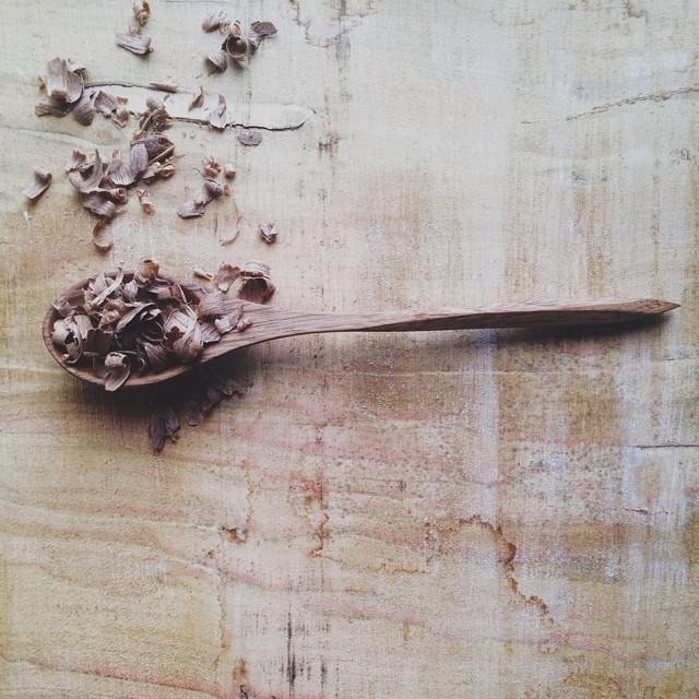 Spoon making again.