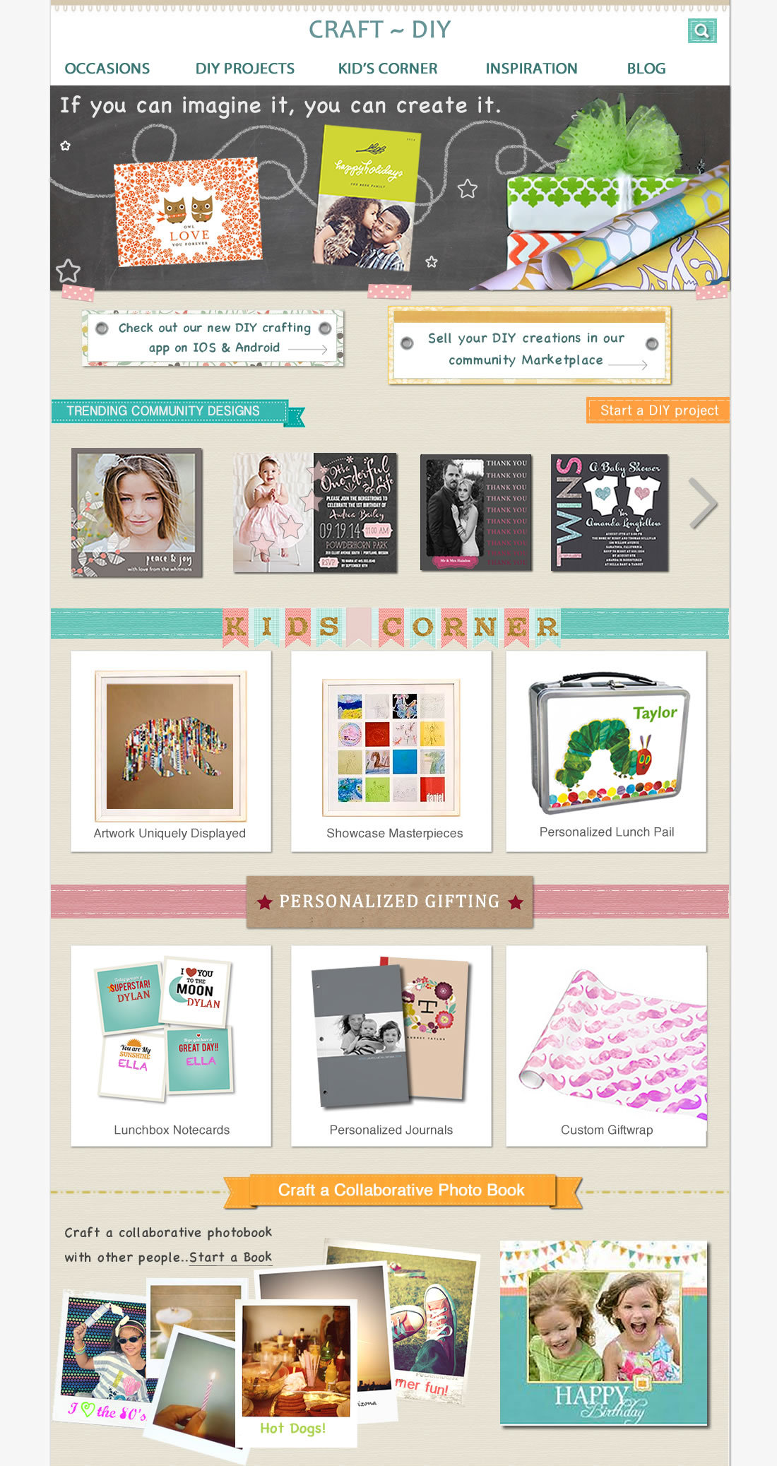 DIY~Craft Home Page