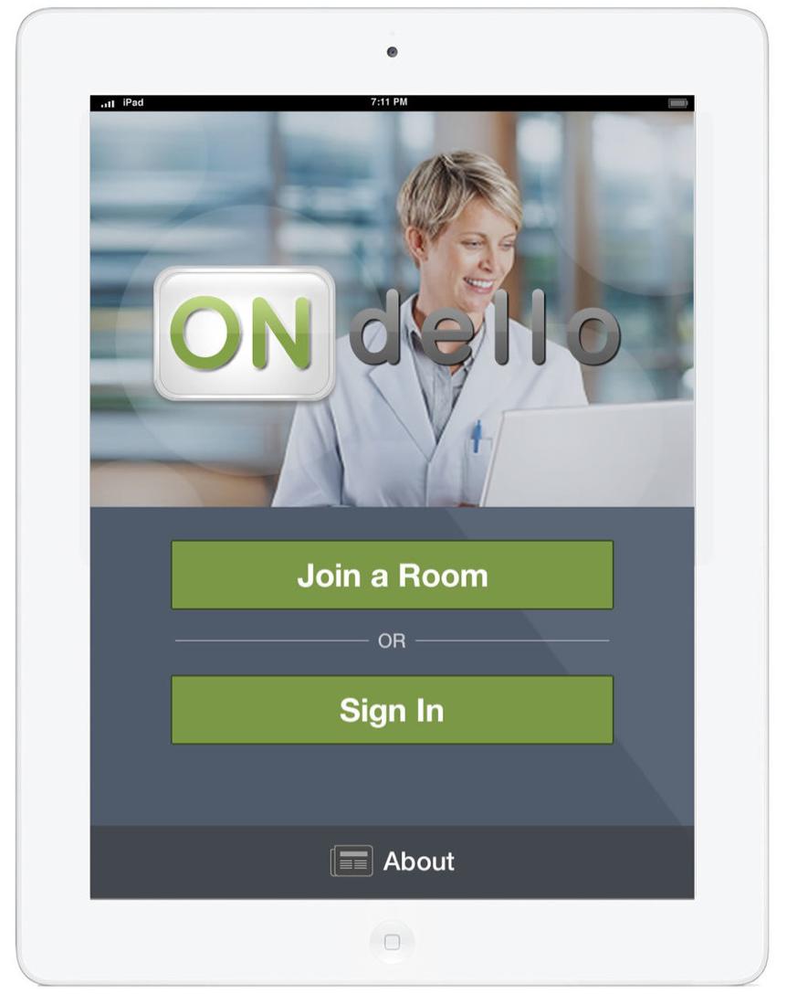 HelloMD telehealth iPad app