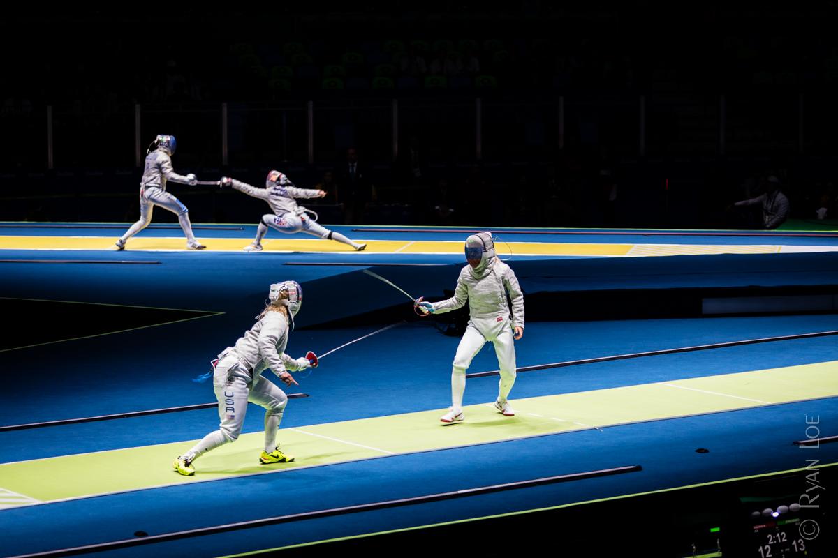 Fencing - Women's Sabre