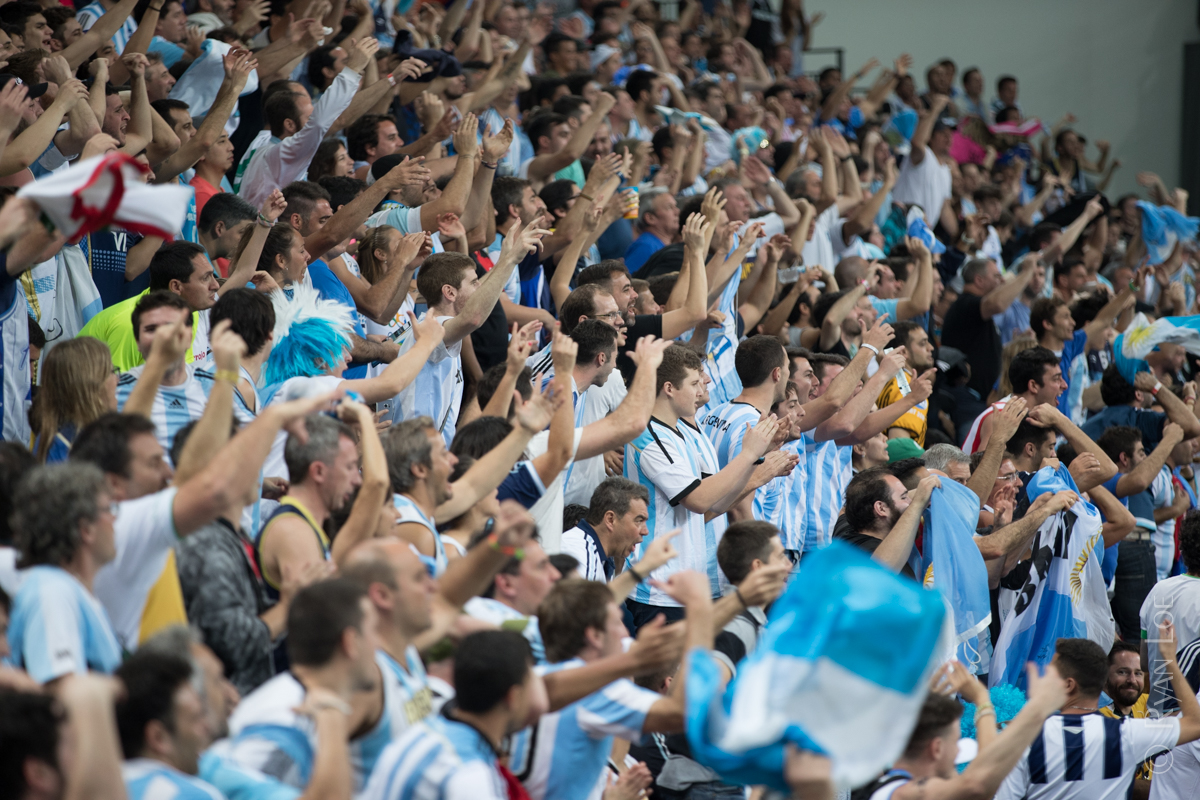 Argentinian Cheering Section