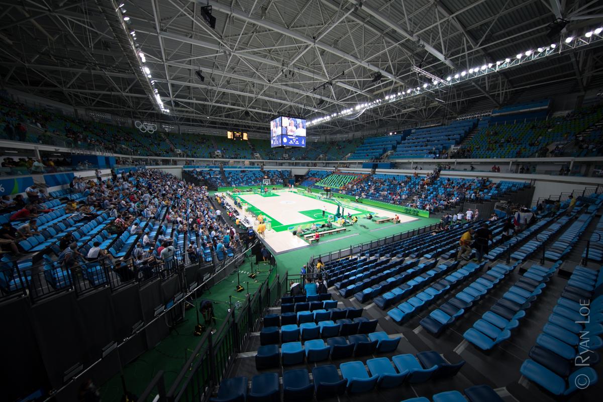 Olympic Basketball Venue