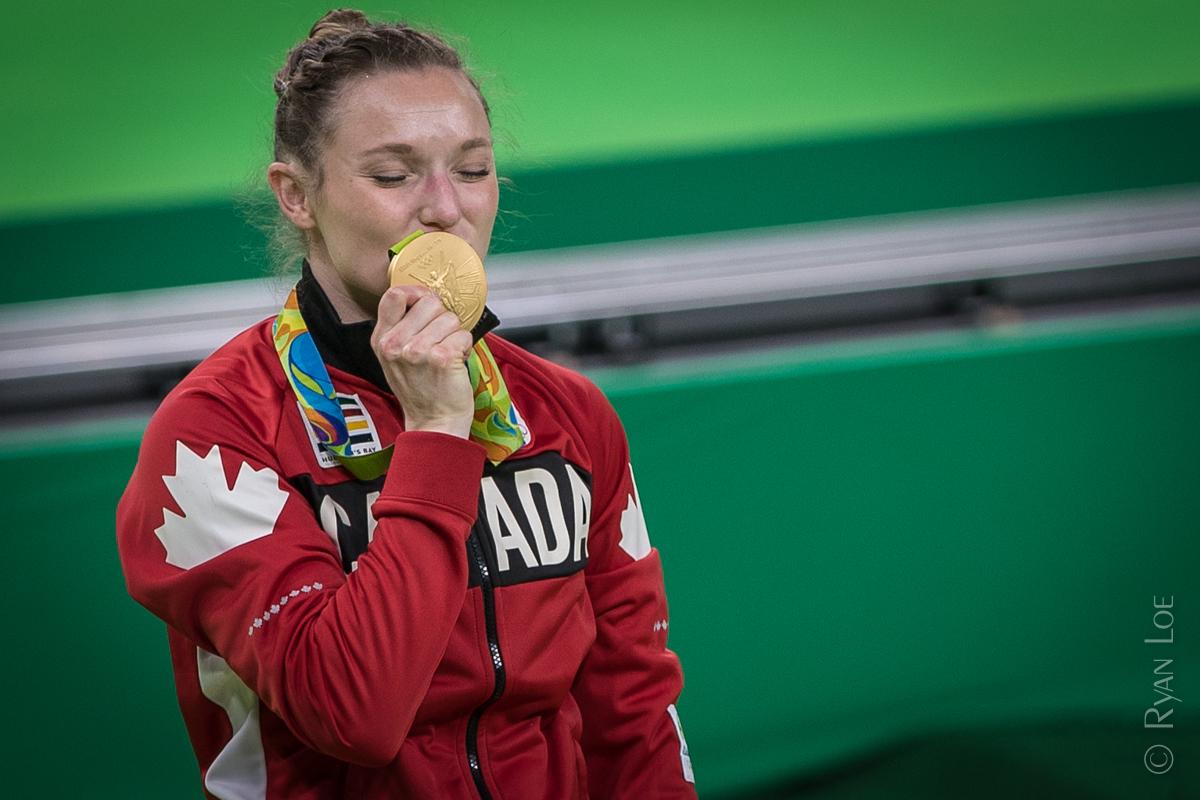 Gold Medalist Rosannagh MacLennan