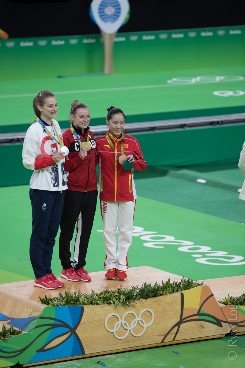 Gold, Silver & Bronze
