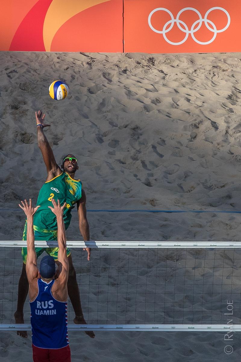 Brazil vs Russia, Beach Volleyball