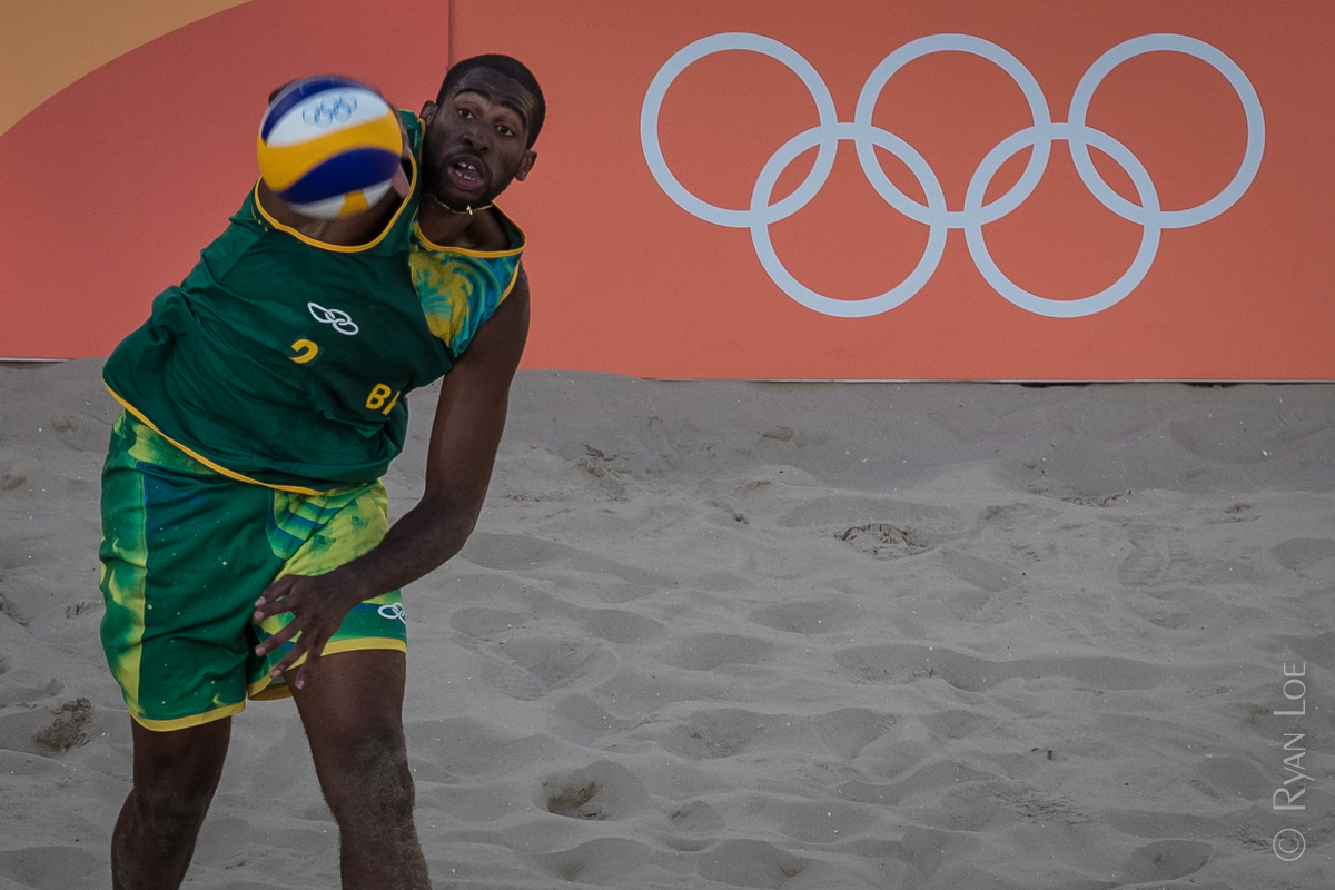 Men's Beach Volleyball