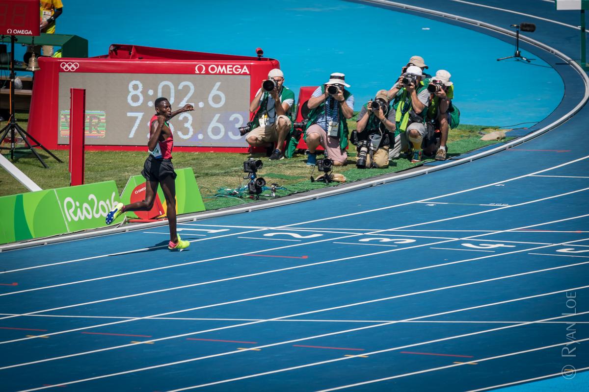 Steeplechase Gold Medalist