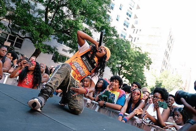 🌈 WorldPride NYC / Pride Fest shot for @BFA featuring @billboardbaby, @its_rletto, @princessnokia & @laurenjauregui 🤳🏼#Pride