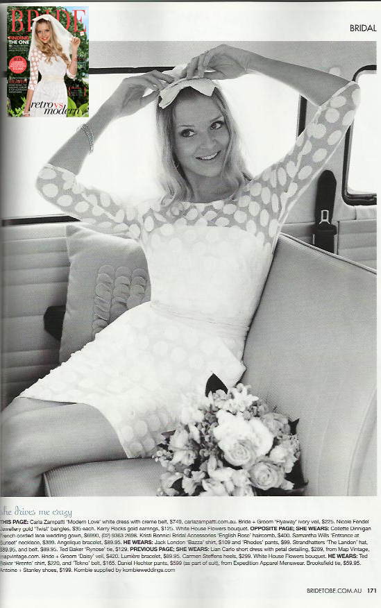 Bride to be Magazine May 2012