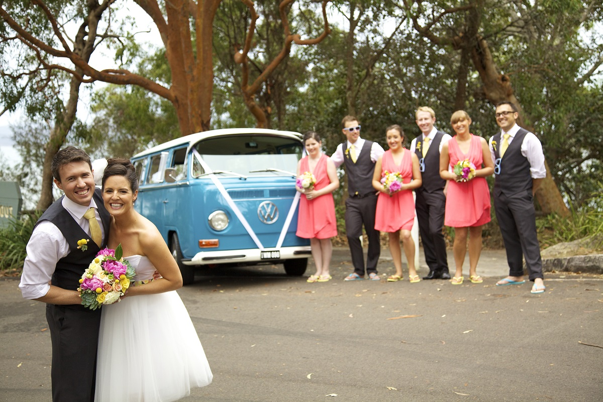 Erin & Scott married at beautiful West Head in Kuringai National Park and recently celebrated their first wedding anniversary