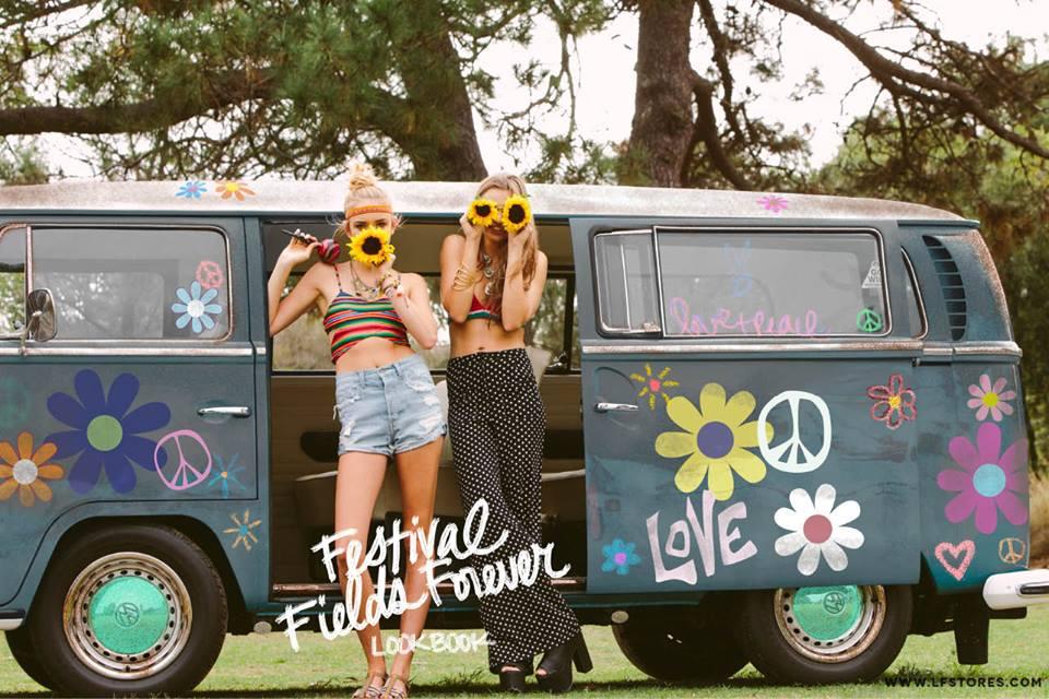 LF Stores Coachella lookbook