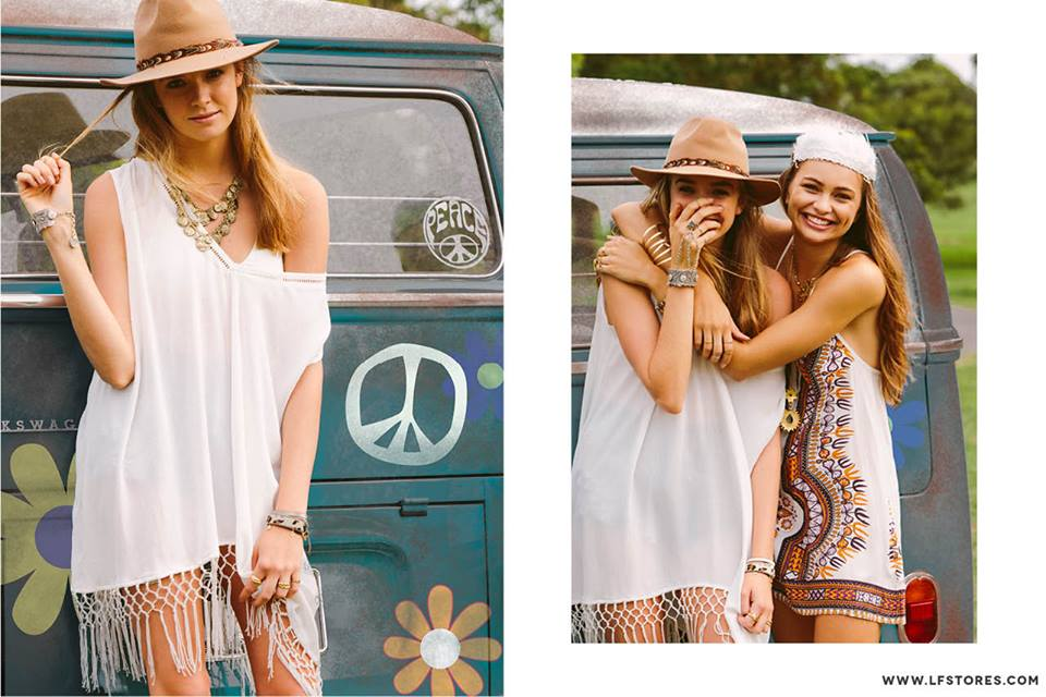 American chain LF Stores Coachella Lookbook -