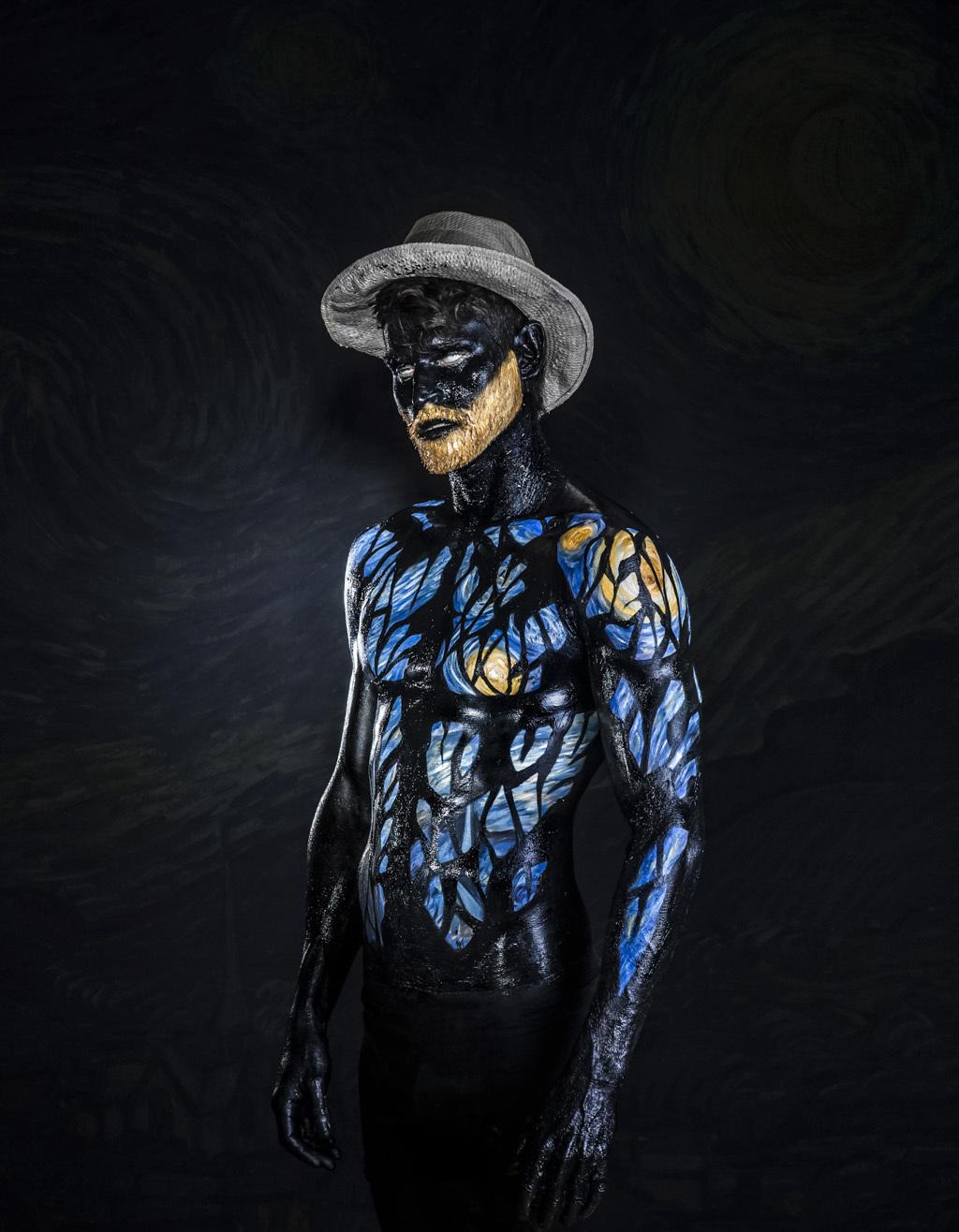 Vincent Van Ghost Soul Portrait by Moses Pini Siluk..jpg