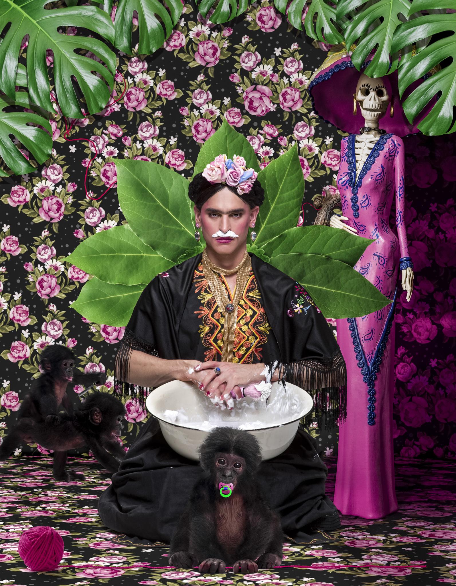 Frida Colors      Soul Portrait by Moses Pini Siluk..jpg
