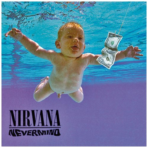 Iconic cover from Nirvana's 1991 classic