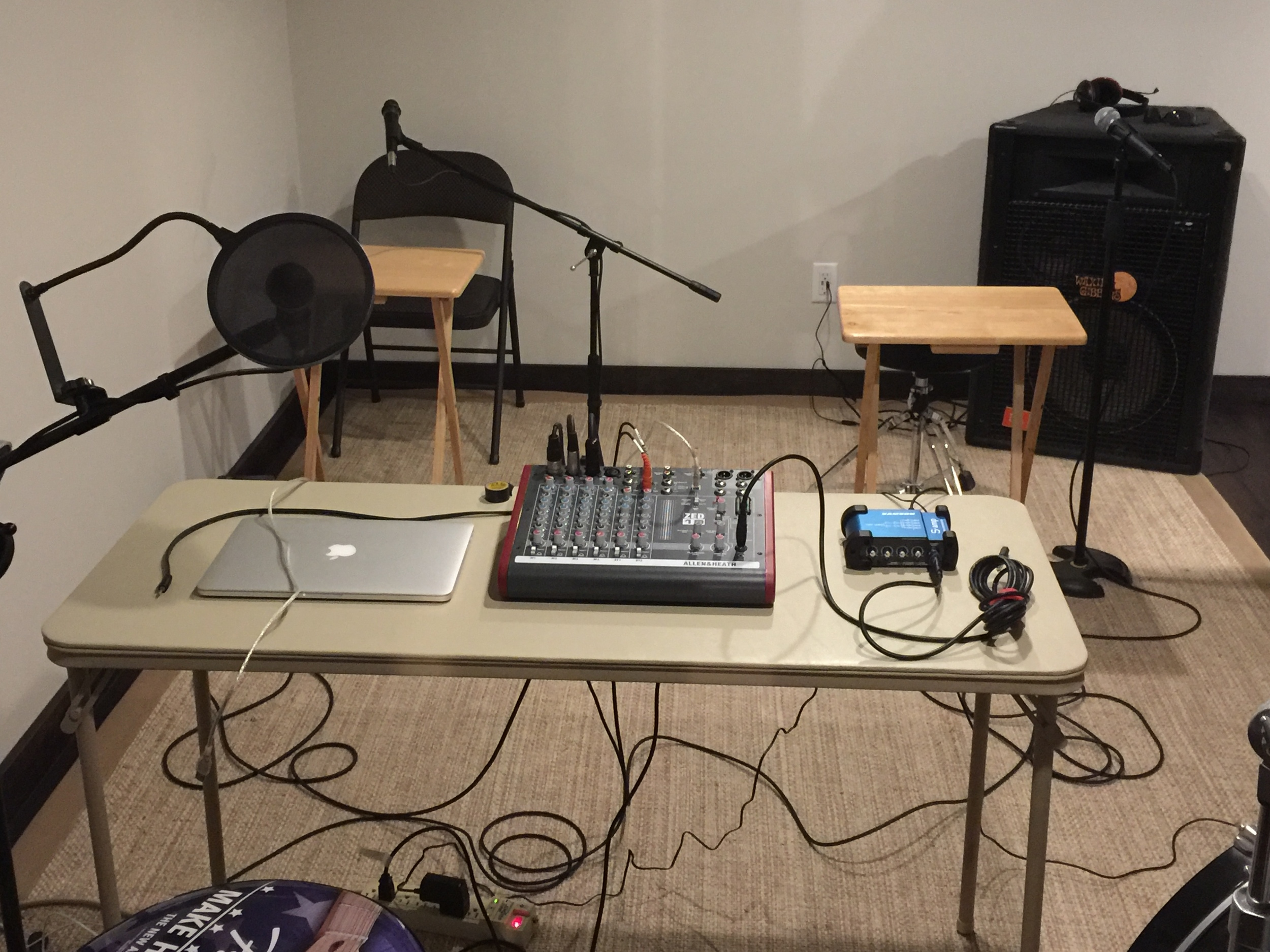 Podcast tools for 080; Extra Life recording set-up