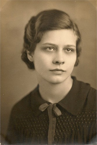 My grandmother, Victoria Prinzing, when she graduated from York Community High School in Elmhurst, IL.