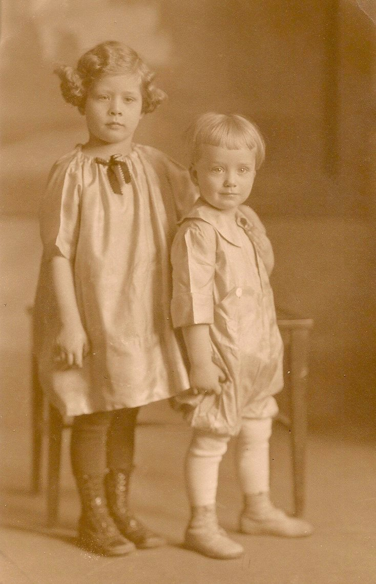 Vickie Prinzing and brother
