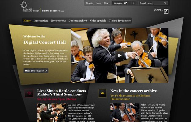 Berlin Philharmonic,  Digital Concert Hall