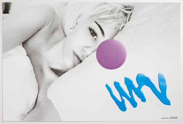 (An image of Miley Cyrus in Visionaire 64.Credit Visionaire)