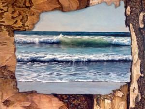 """Border Walled"" by Amelie Rider, artworkfrom Everyone's Ocean"