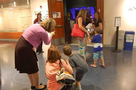 Peeking into the Theatre at a Sensory-Friendly Production at Imagination Stage